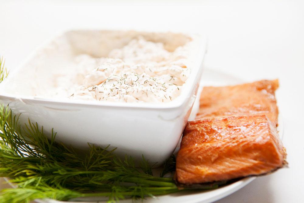 Salmon-Mousse