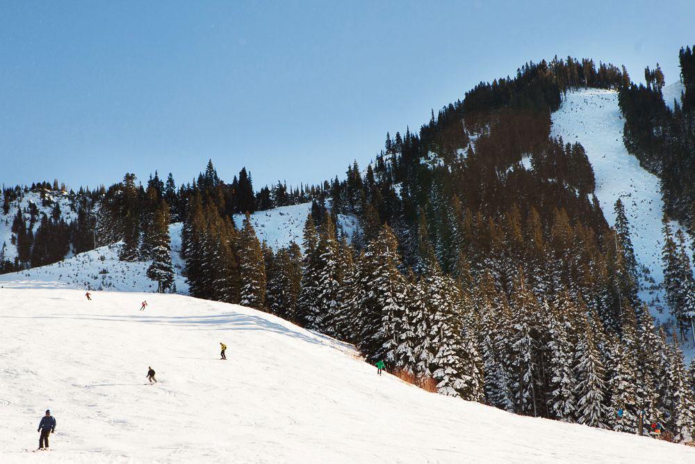 Downhill-Skiing