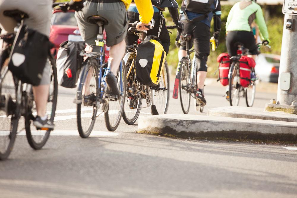 Bike commuting in Seattle