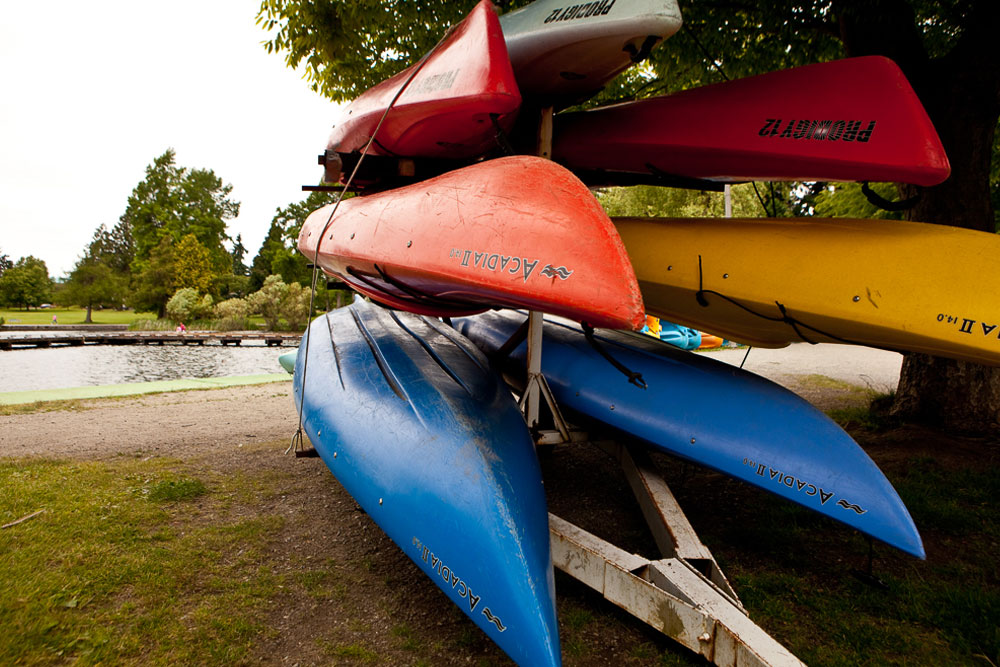 Green Lake Boathouse boat rentals