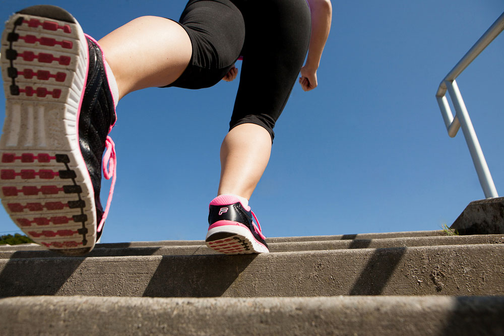 Tone-up for summer by taking the stairs
