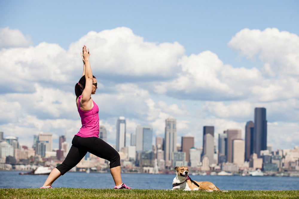 Yoga with Dog