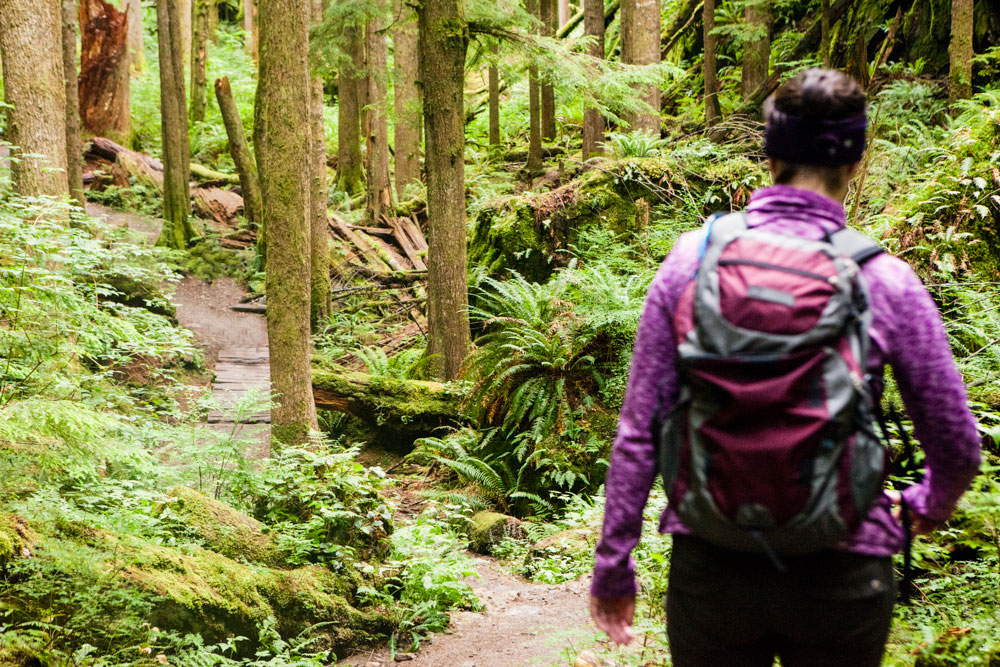 Hiking in North Bend
