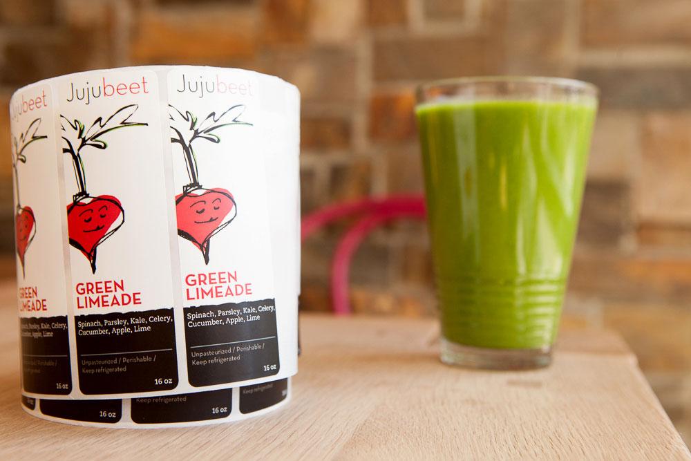 Jujubeet Happy Green juice