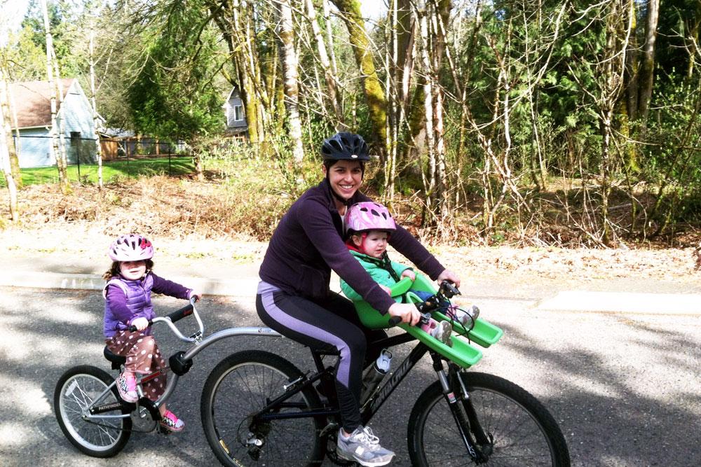Wendy Caamano Biking