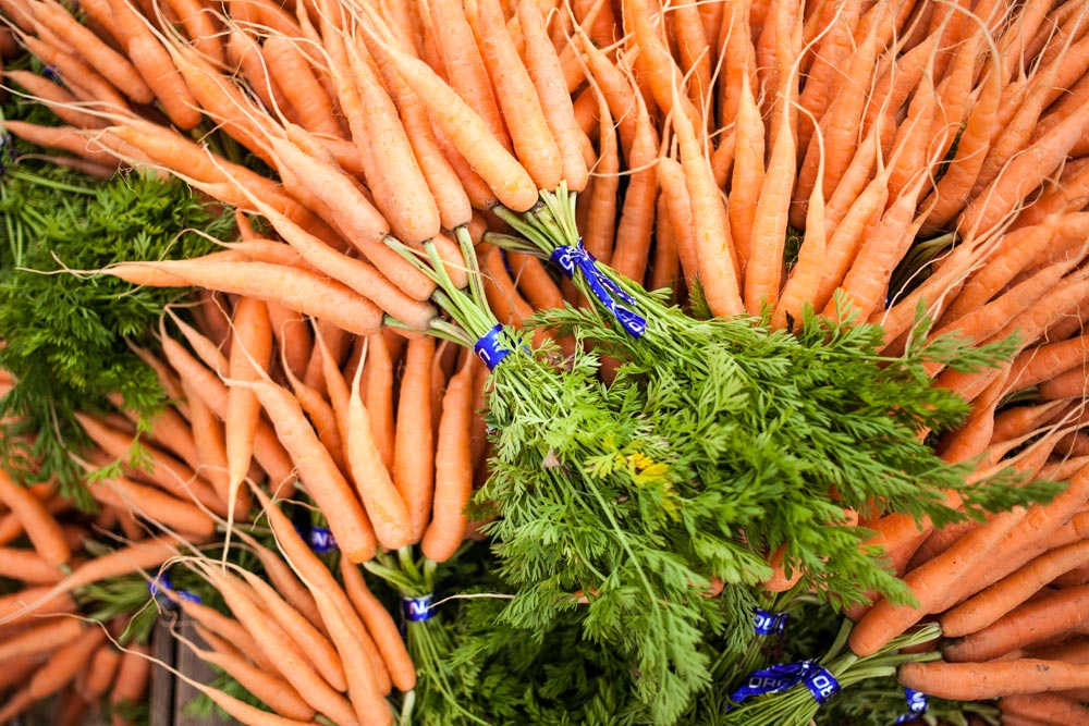 Farmers Market Week carrots