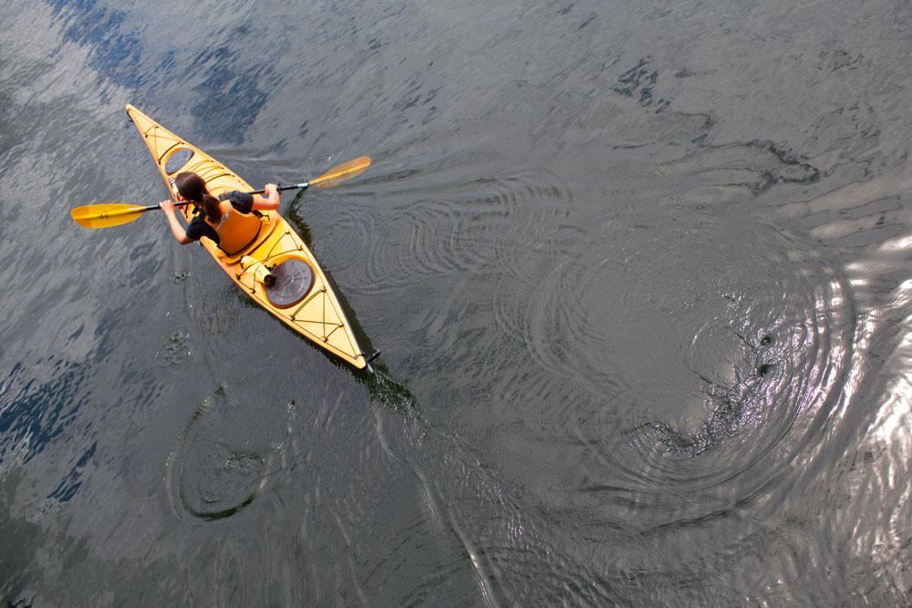 Oregon Coast kayaking