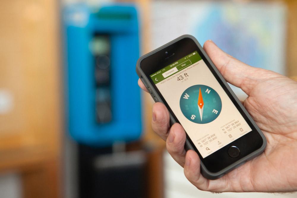 Northwest geocaching smartphone app