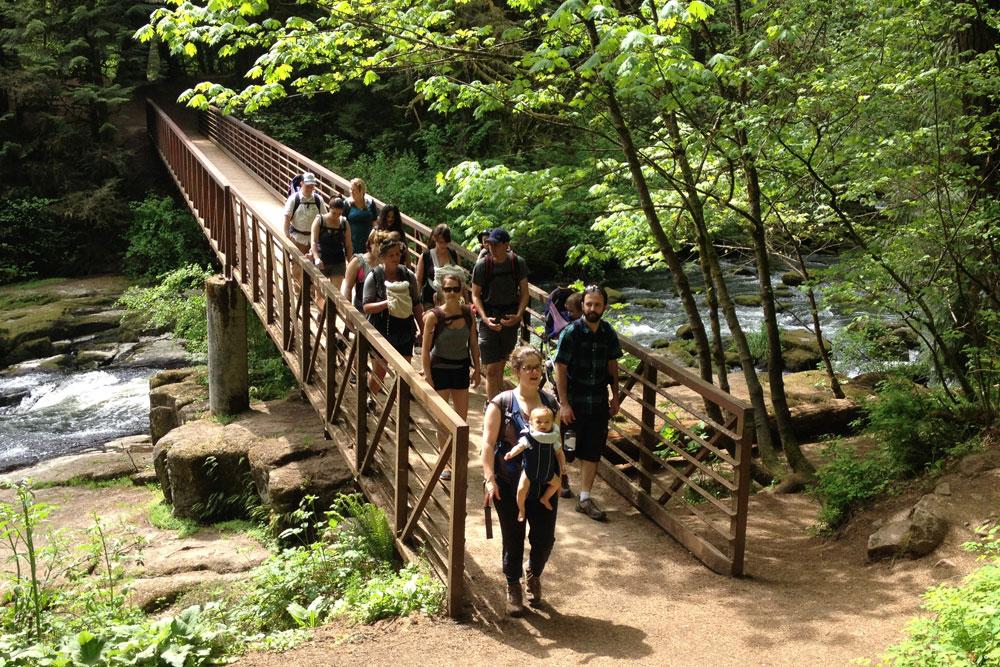 Hike it Baby group hike