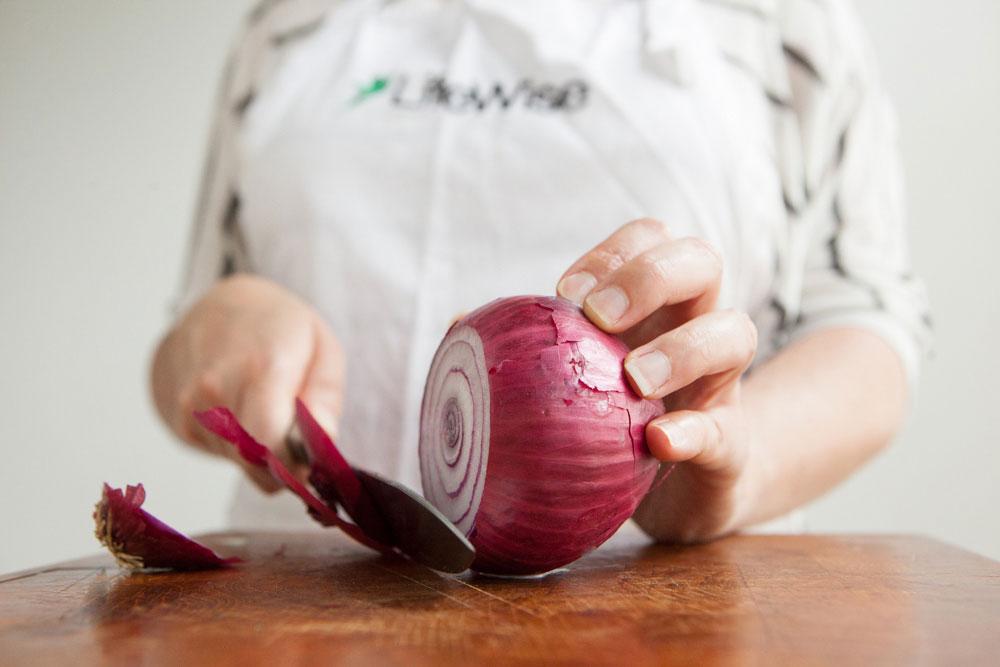 Eggplant Spread onion