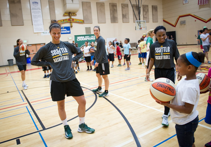 The Seattle Storm at Tyee High School workout playlist