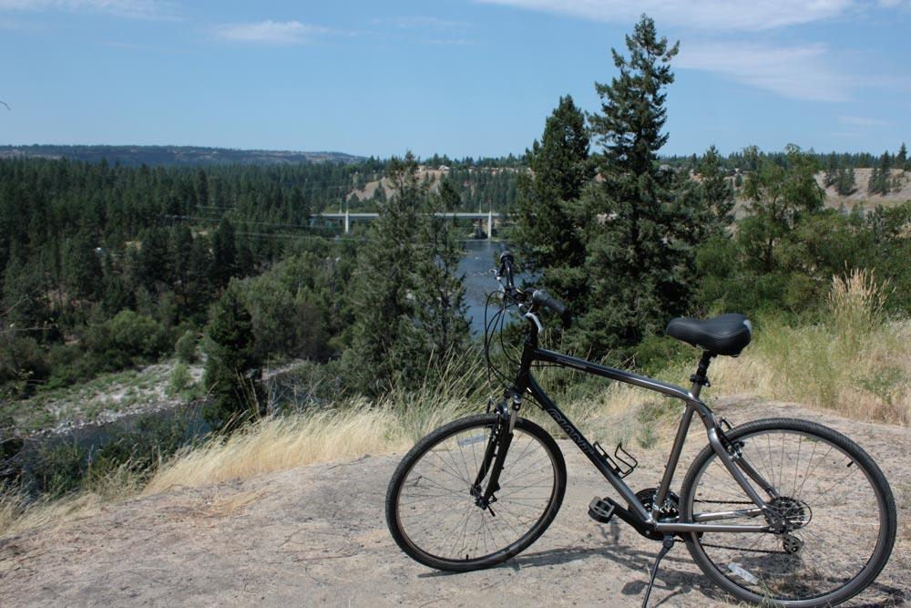 Spokane adventure Spokane River Centennial Trail