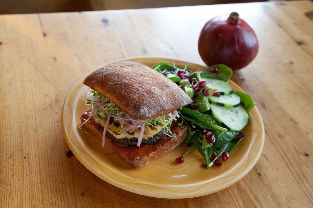 West Seattle's Alki Beach Chaco Canyon Organic Café