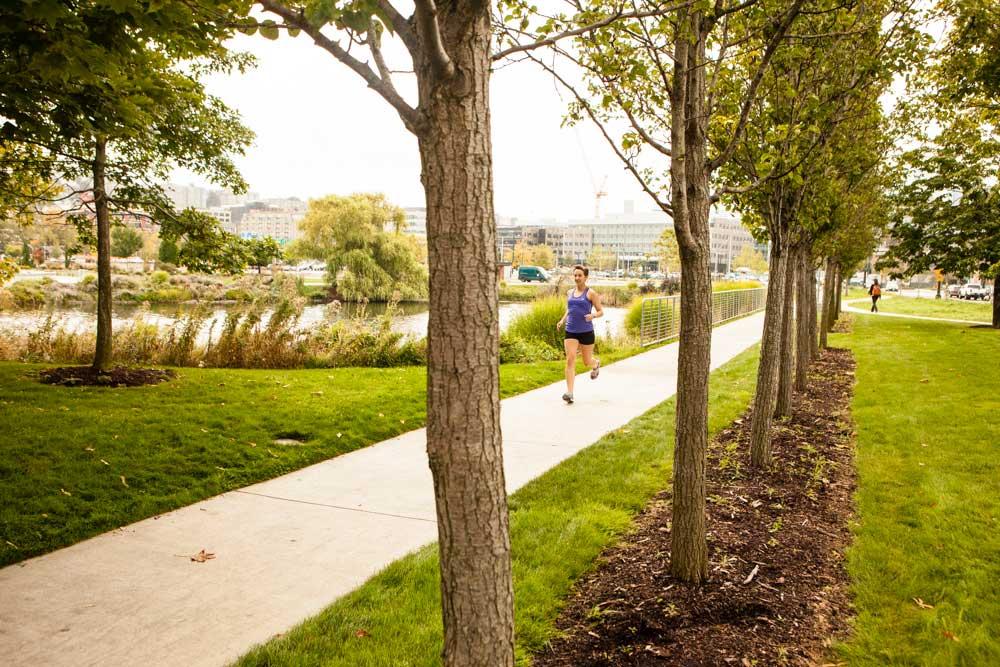 Training for a half-marathon in Seattle