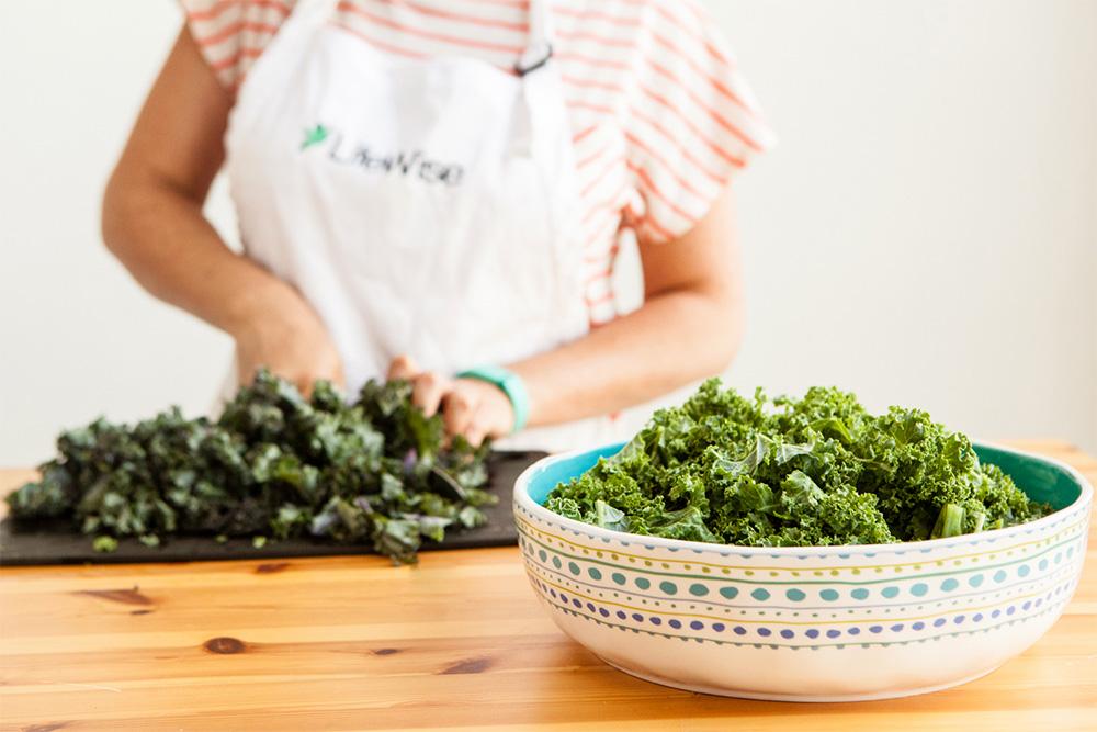 LifeWise Kitchen: Kale Salad with Mandarin Oranges