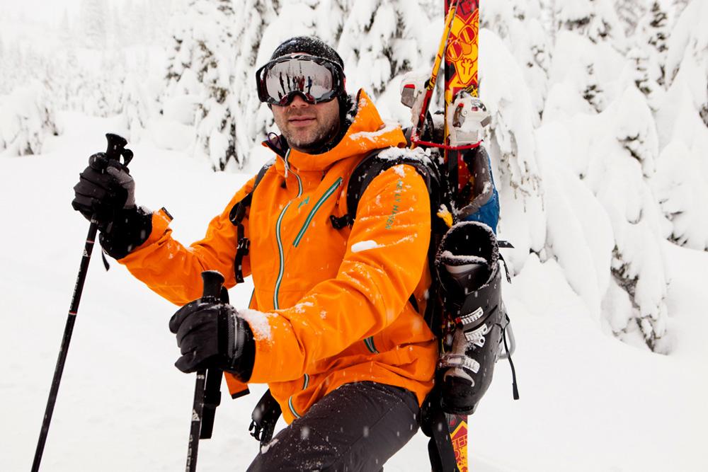glade skiing