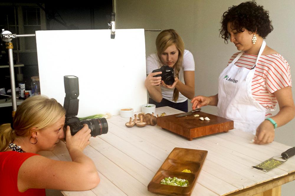 Behind-the-Scenes cooking