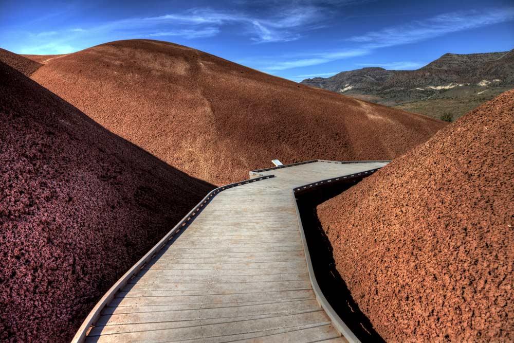 desert jon day fossil beds path