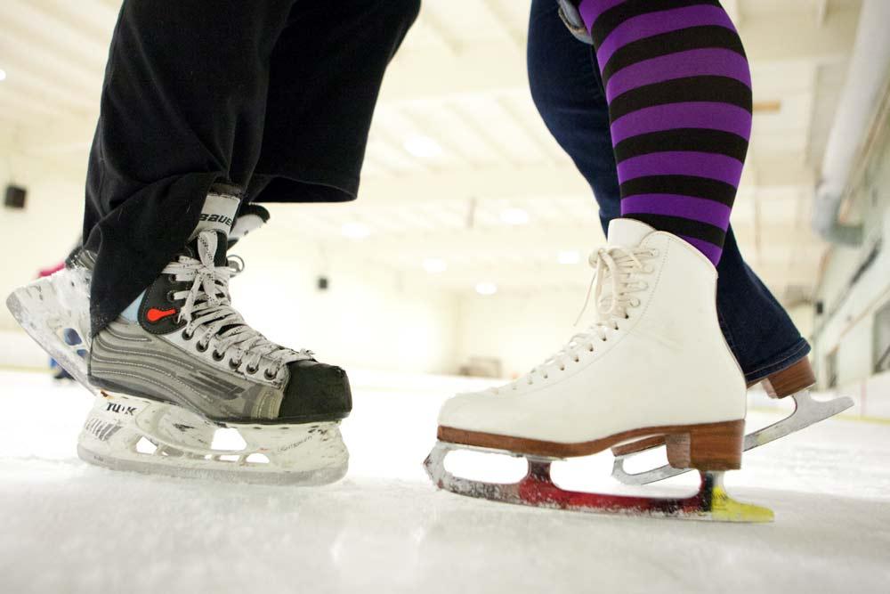 ice skating in winthrop