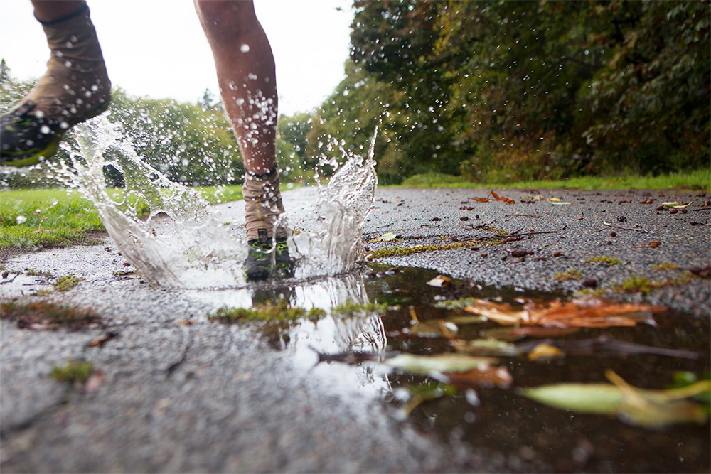 Tips for Running in the Rain-Rain Warrior