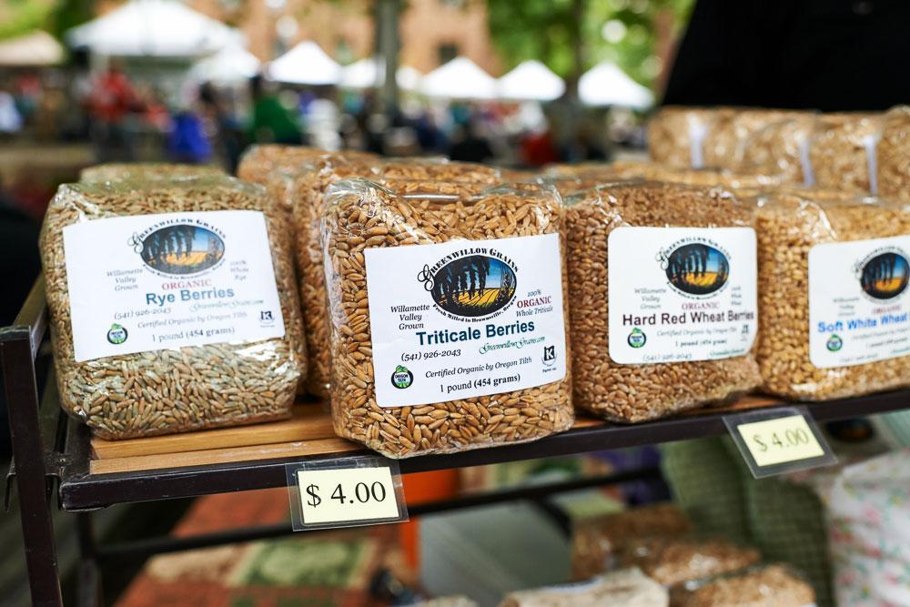 Greenwillow Grains organic grain farm in Oregon