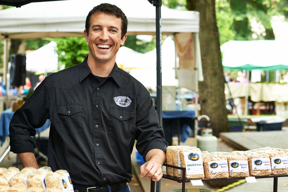 Clint Lindsey of Greenwillow Grains