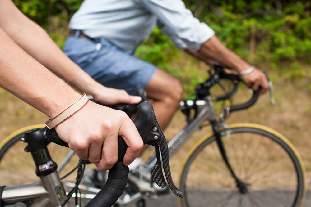 Biking excuses local trails