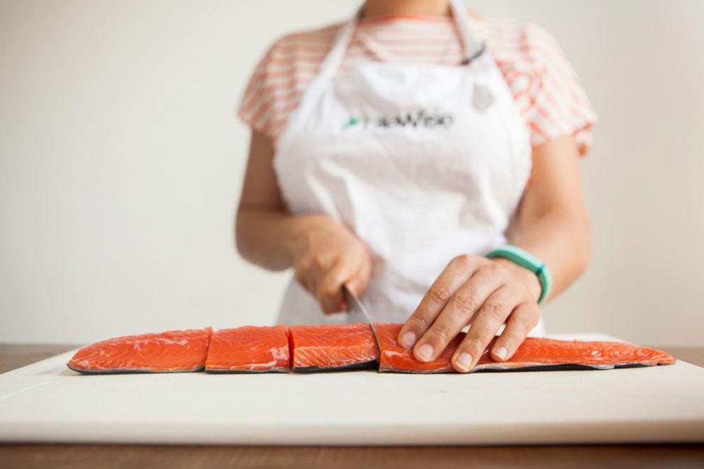 Cocoa Salmon recipe salmon fillet
