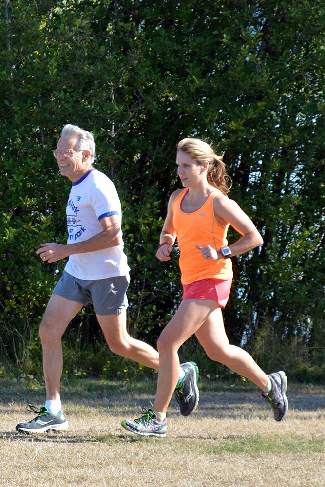 Marathon-running Dad
