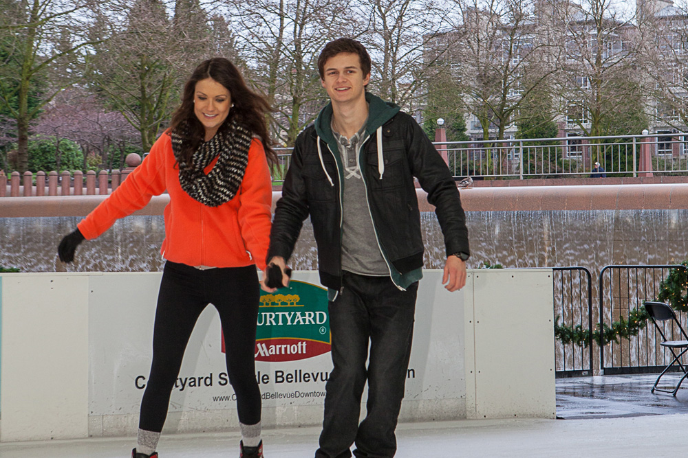 seasonal ice rinks