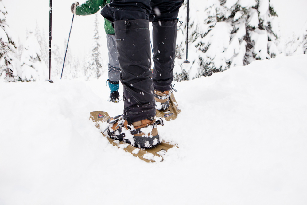 snowshoeing in Oregon