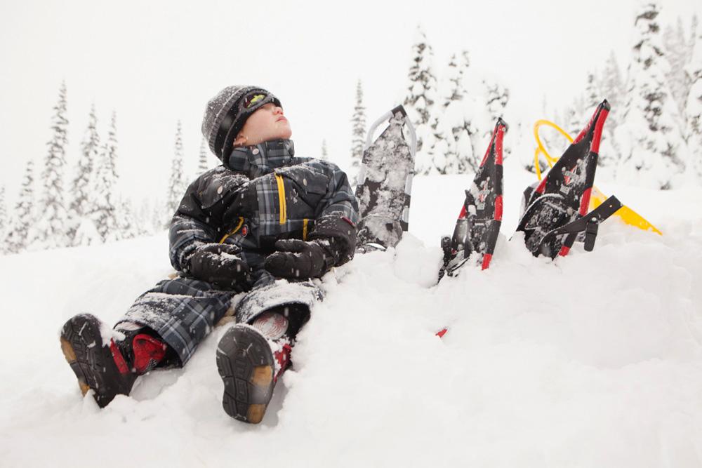 snowshoeing in Washington